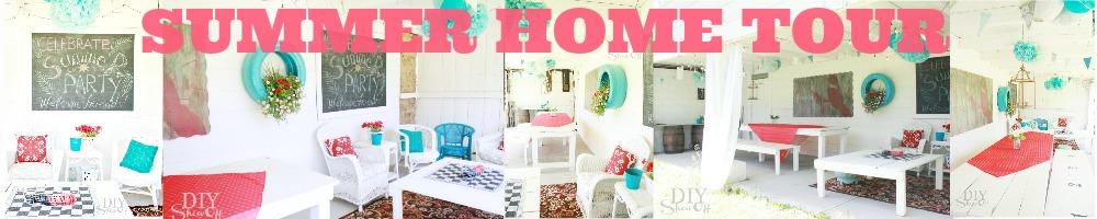 DIY Show Off summer home tour slide