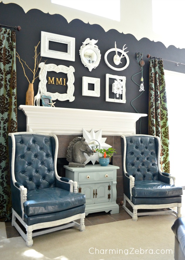 Living Room at Charming Zebra