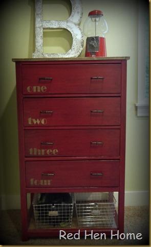 Red Hen Home Handbuilt Bedroom Dresser