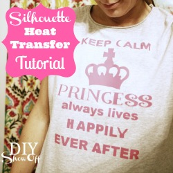 Silhouette Heat Transfer Tutorial