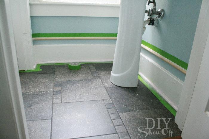 decorative baseboard tutorial