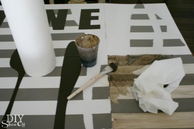 diy foam board art