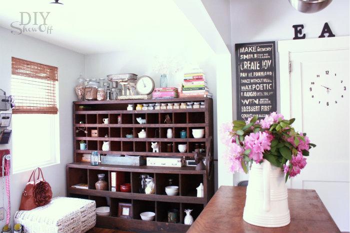 eclectic farmhouse kitchen
