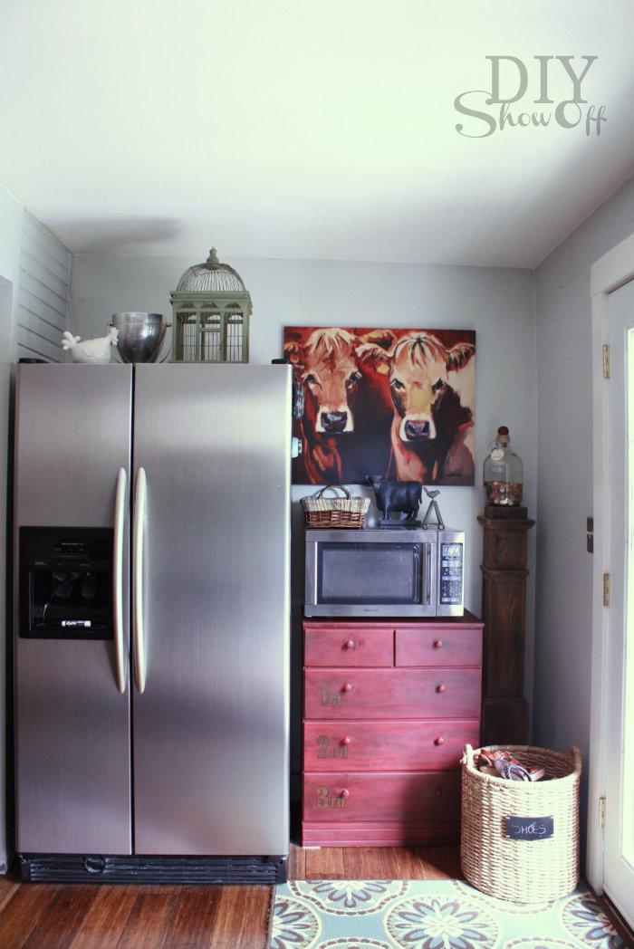 eclectic kitchen tour