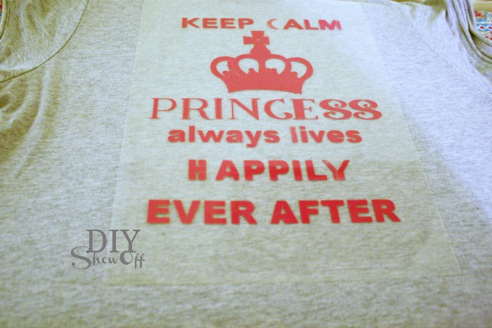 keep calm silhouette heat transfer