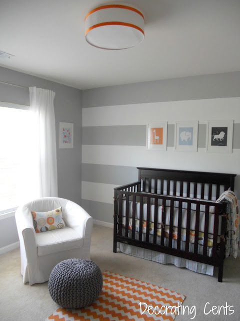 nursery reveal at Decorating Cents