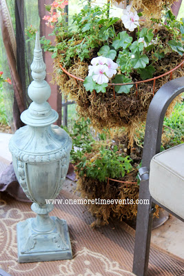 outdoor decor at One More Time Events
