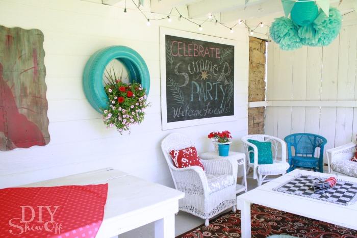 party patio