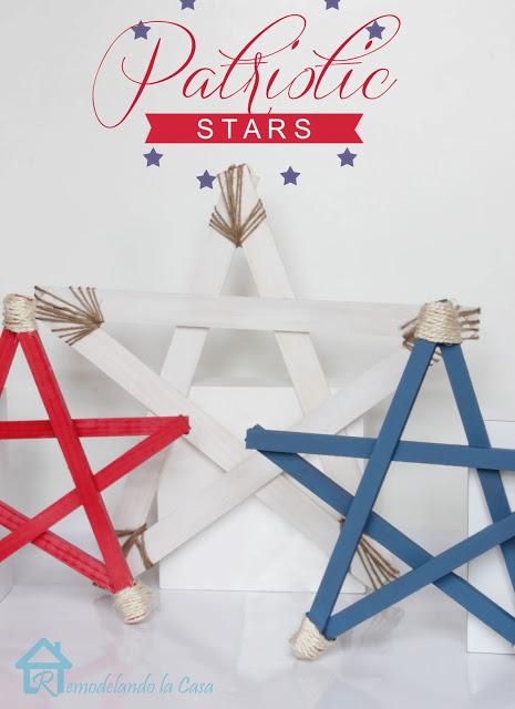patriotic star by remodelando la casa