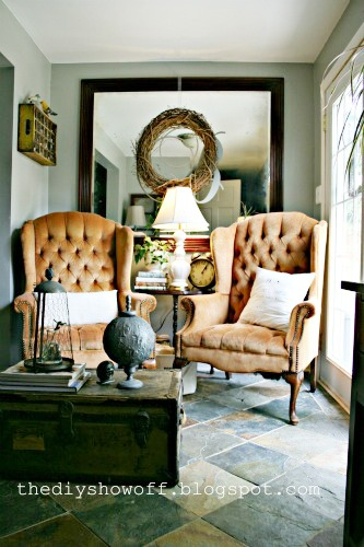 thrifty sitting room