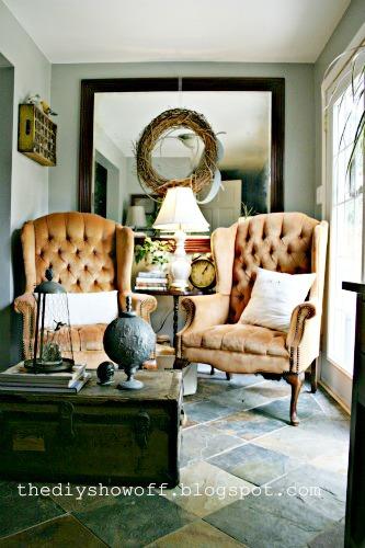 thrifty sitting room