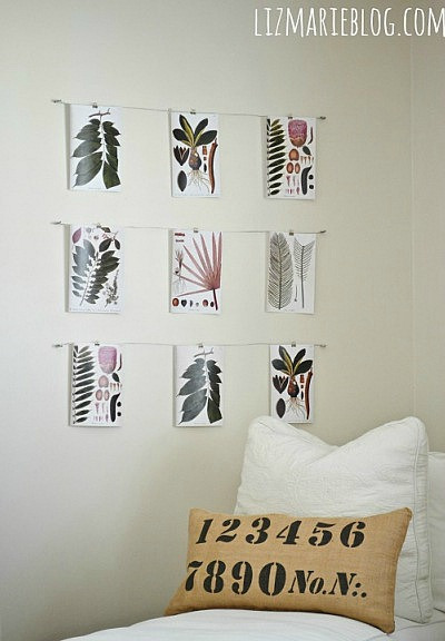 wire art display at Liz Marie Blog