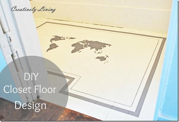 Closet-Floor-Design at Creatively Living Blog