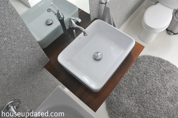 bathroom makeover - House Updated