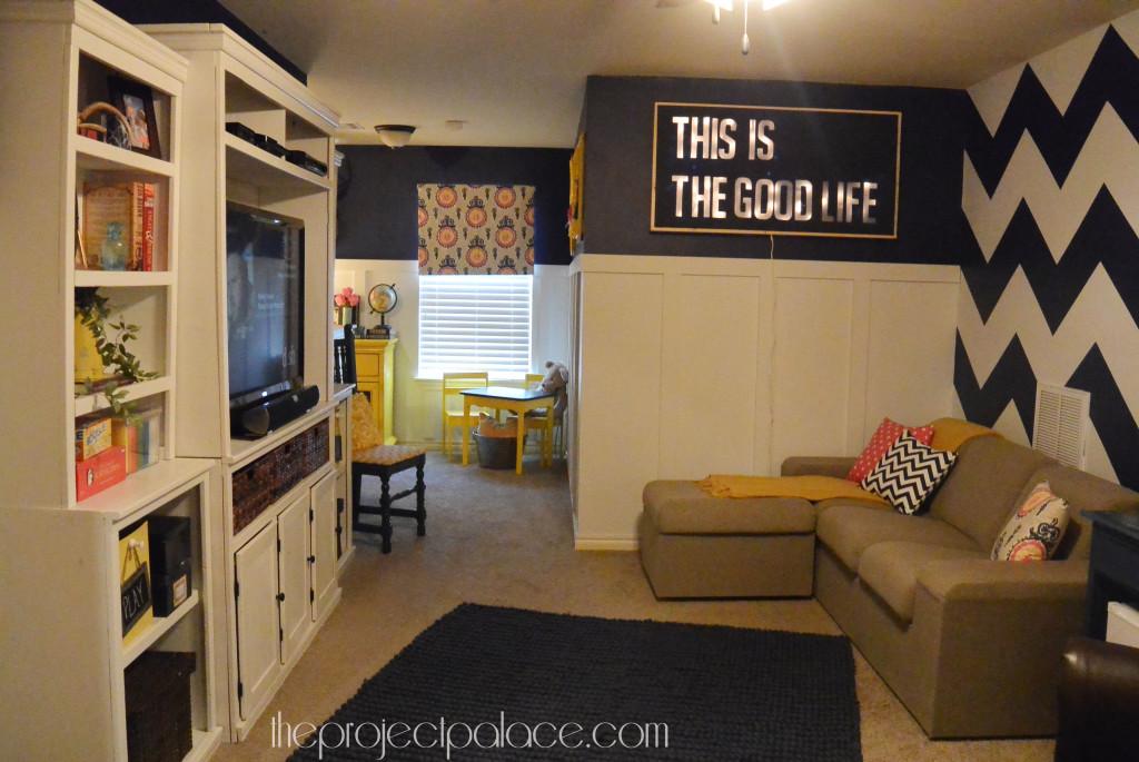 bonus room playroom makeove at The Project Palace