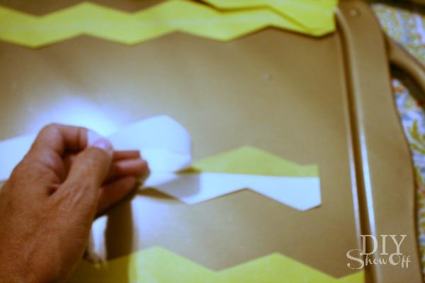 chevron shape tape