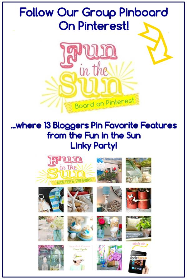 fun in the sun pinboard
