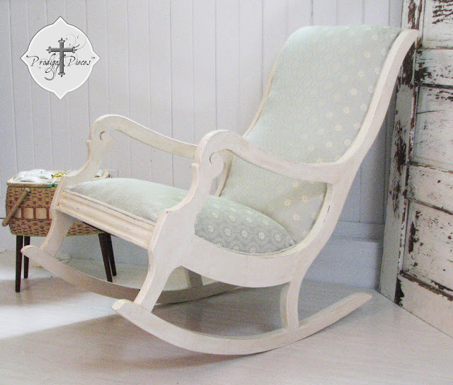rocking chair makeover at Prodigal Pieces