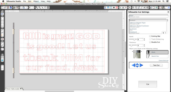 Silhouette Studio designer software