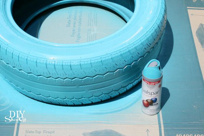 Diy Tire Planter Tutorialdiy Show Off Diy Decorating