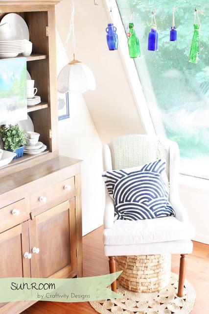sun room makeover at Craftivity Designs