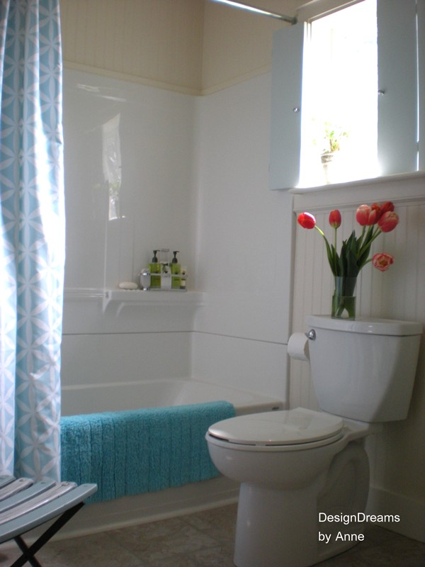 Bathroom makeover at Design Dreams by Anne