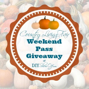 Country Living Fair weekend pass giveaway
