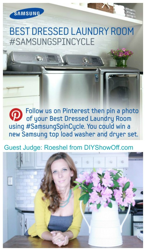 Samsung Best Dressed Laundry Room