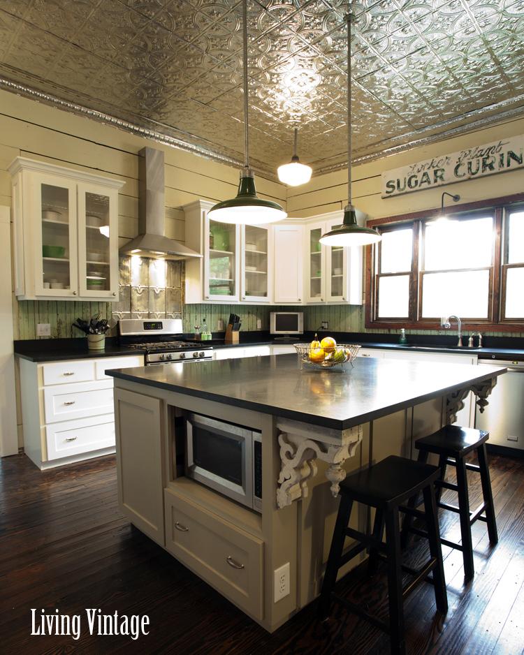 Living-Vintage-kitchen-reveal