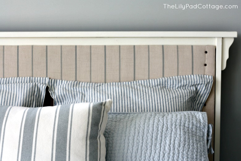 Upholstered_bed_DIY - The Lilypad Cottage