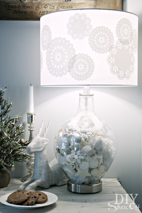 DIY Christmas Lamp