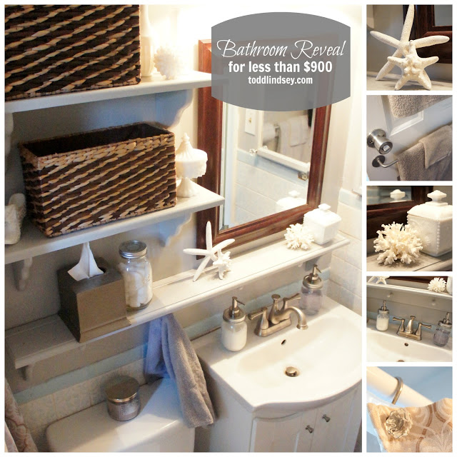 bathroom makeover at Todd & Lindsey