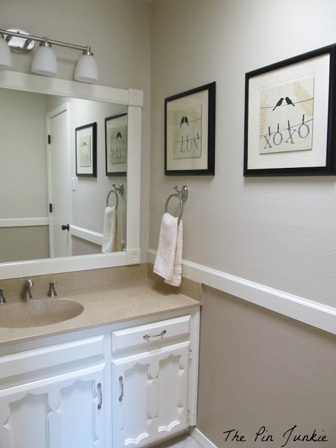 bathroom makeover at thepinjunkie