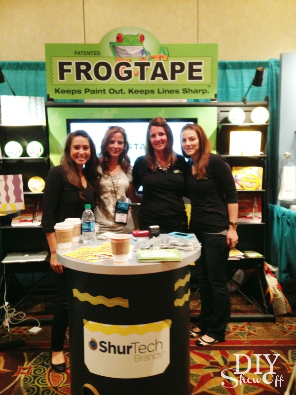 DIY Show Off with FrogTape team