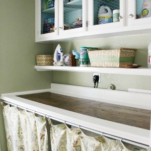 laundry room at Domestic Imperfection - finalist