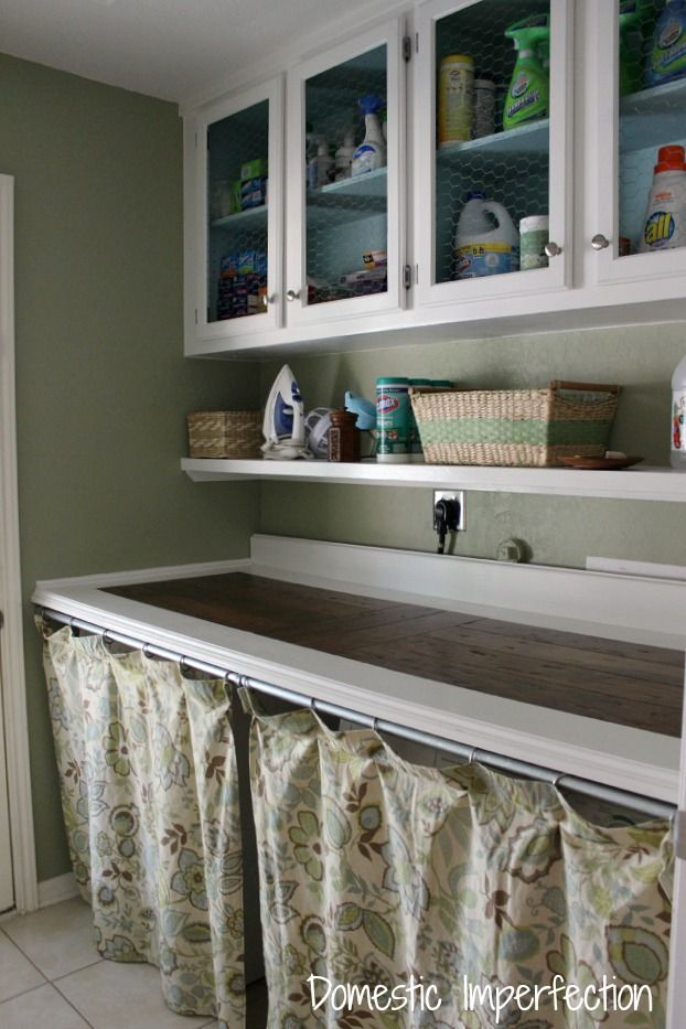 laundry room at Domestic Imperfection