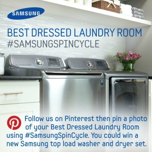 Samsung Best Dressed Laundry Room