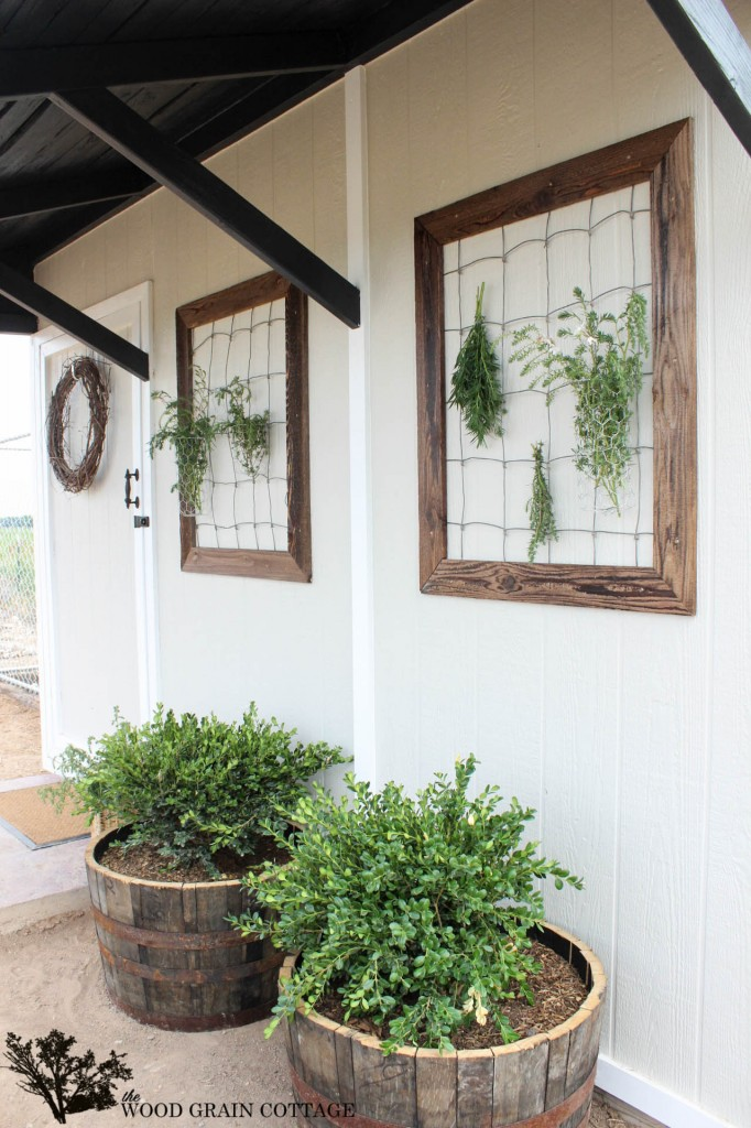 shed makeover The Wood Grain Cottage