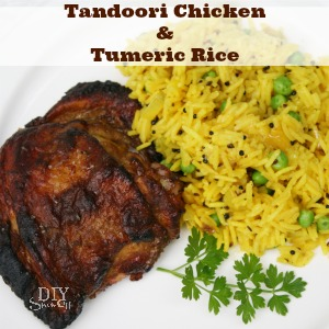 tandoori chicken tumeric rice diyshowoff