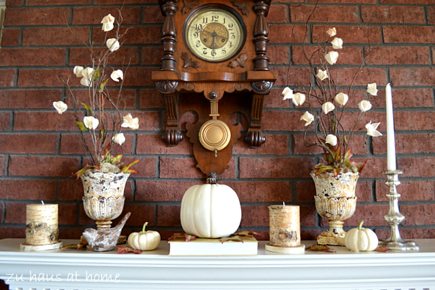 Fall-Mantel at ZuhausatHome