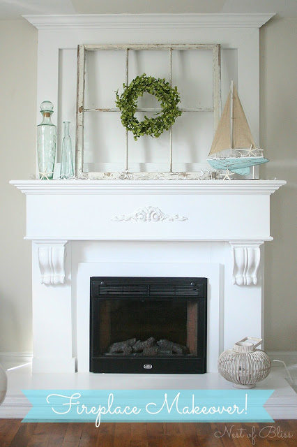 FireplaceMakeover - Nest of Bliss