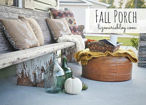 fall front porch at Liz Marie blog