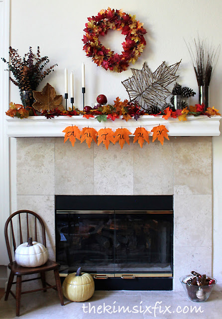 fall mantle at the kim six fix