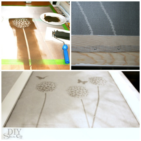 removable decorative DIY window frame tutorial