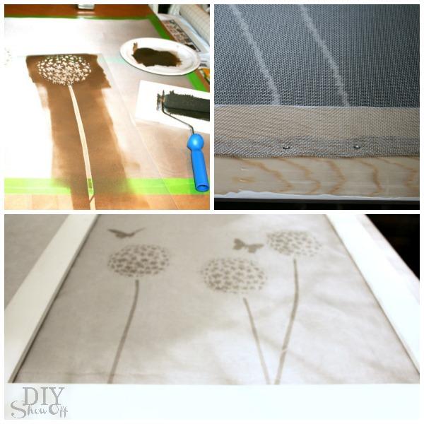 removable decorative DIY window frame tutorial