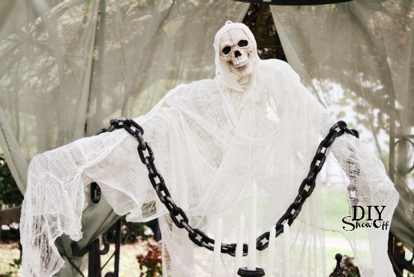spooky ghost tutorial