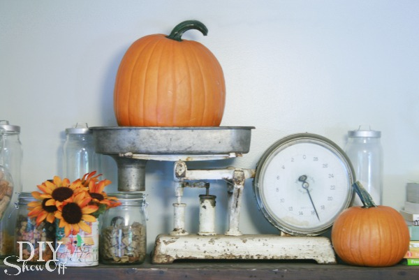 vintage fall pantry