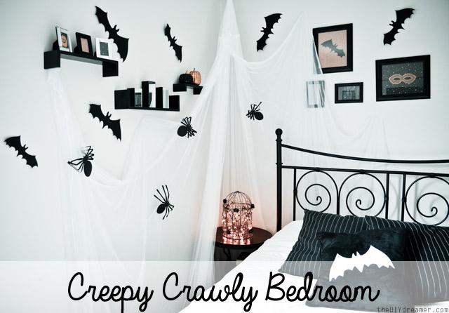 Creepy-Crawly-Bedroom at The DIY Dreamer