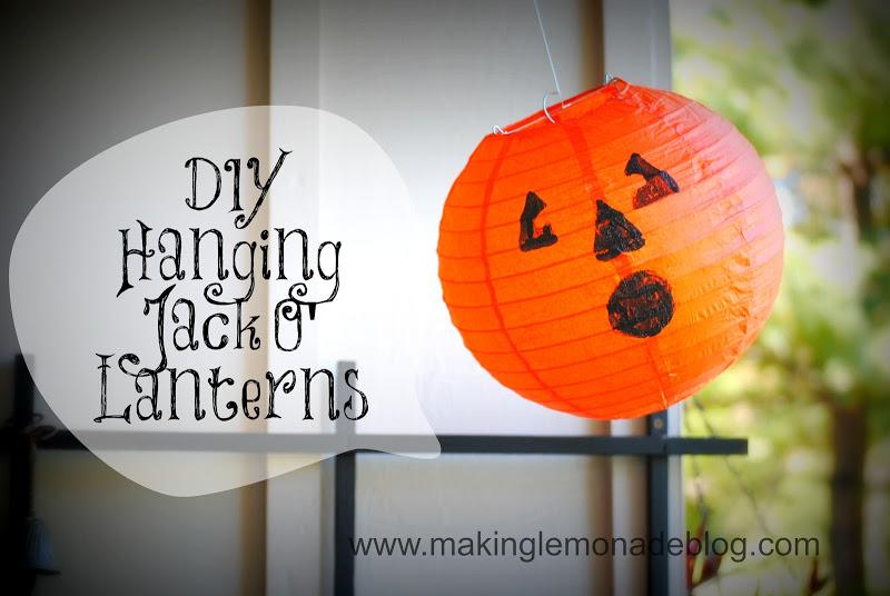 Halloween Jack O Lantern at Making Lemonade