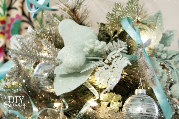 Mint Ombre Christmas Tree